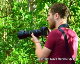 Billy Harbour Shooting Monos at Amaru Zoo 7-29-14 by Dave Harbour -00