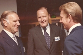James Donald - David R Williams - Dave Harbour - Spring 1976 - Williams Bros Reception - OkCity-3