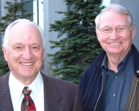 Wally Hickel and Max Hodel 1 by Dave Harbour - 5-9-01