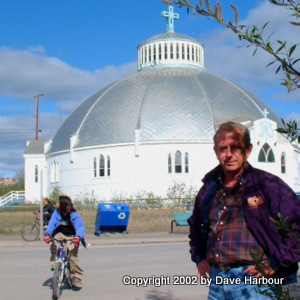 Inuvik, Round Church, NWT, Canada, Mackenzie Valley Gas Pipeline, propane, Photo by Dave Harbour