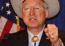 Ken Salazar, Fist, Secretary, DOI, Department of Interior, five year lease sale, Photo by Dave Harbour