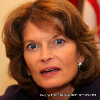 Lisa Murkowski, US Senator, Alaska, FERC, Norman Bay, Photo by Dave Harbour