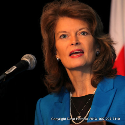 Lisa Murkowski, US Senate, Energy Plan, NARUC, Photo by Dave Harbour
