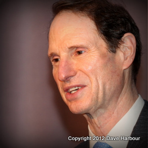 Ron Wyden, U.S. Senate, Natural Resources and Energy, Confirmation Hearing, Secretary of Interior, Sally Jewell, REI, Photo by Dave Harbour
