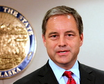 Alaska Governor Sean Parnell, Photo by Dave Harbour